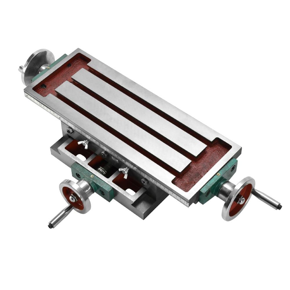 Cross Workbench Milling Machine Sliding Table Compound table Working Cross Worktable for Milling Drilling Bench Multifunction enlarge