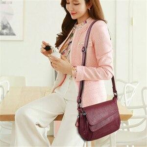 Winter White Handbag Soft Leather Luxury Handbags Women Bags Designer Female Shoulder Messenger Bag Mother Bags For Women 2020
