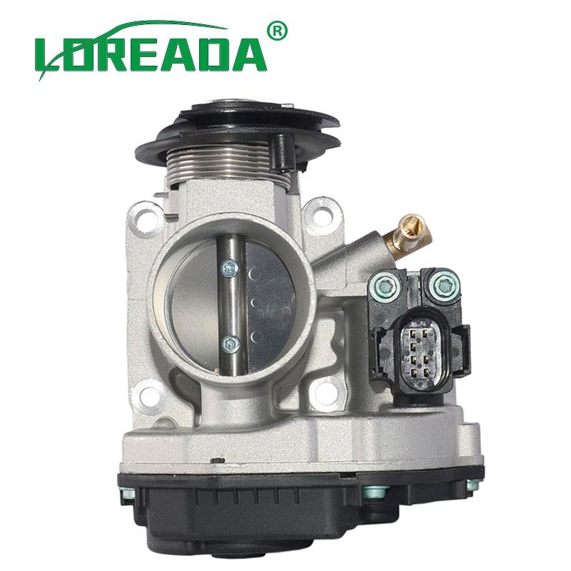 Conjunto de cuerpo de acelerador 030133064F para SEAT AROSA SKODA OCTAVIA GOLF LUPO POLO BORA 408237130004 408-237-130-004Z 408237130004Z