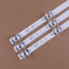 Nieuwe Originele Kit 3 Pcs 6LED 590Mm Led Strip Voor Lg 32LY340C 32LF560V 32LB582D Lgit B Een 6916L-1703B 1704B 6916L-2406A 2407A