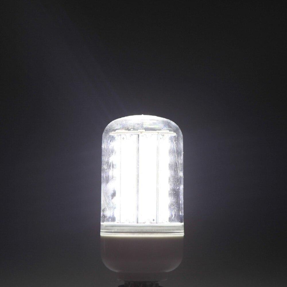 4 قطعة E14 12 واط 5730 SMD 60 LED الذرة ضوء لمبة مصباح توفير الطاقة 360 درجة الأبيض 220-240 فولت انخفاض الشحن