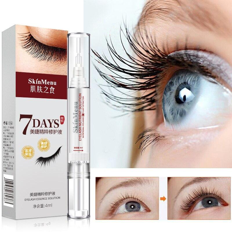 Powerful Eyelash Growth 7 Days Serum Eye Lash Enhancer Natural Curling Nursing Liquid Makeup Lashes