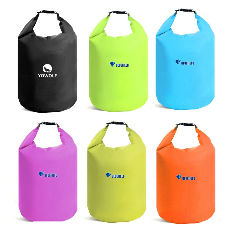 Bluefield 40L 70L bolsa de almacenamiento al aire libre impermeable bolsa seca para Canoa Kayak Rafting deportes equipo de Camping Kit de viaje