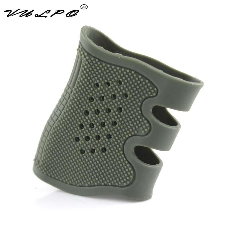 VULPO Caça Acessórios Tactical Pistol Grip De Borracha Luva Anti Derrapante para Glock Gama Completa