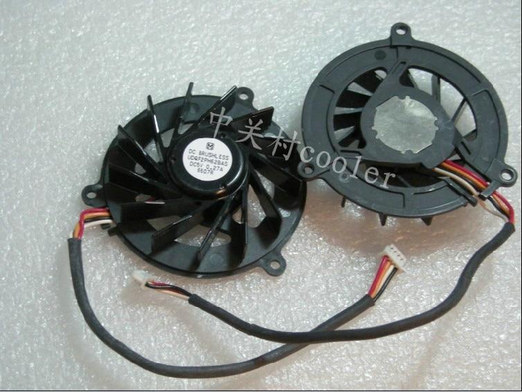 Nueva CPU de refrigeración refrigerador ventilador para ASUS W5 W5A W5F W5FE W5FM W5000 Z35F Z35H 4 pines UDQF2PH61BAS radiador