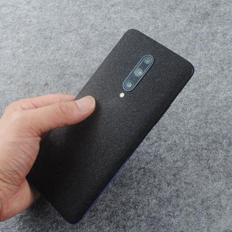Teléfono protege la piel brillo mate etiqueta engomada del teléfono para Oneplus 7 7Pro 7T 7tPro Film Protector de pantalla trasera etiqueta engomada del vinilo