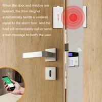 Detecteur Anti-vol pour fenetre magnetique  Kit de securite domestique  alarme Anti-cambriolage dentree de porte sans fil