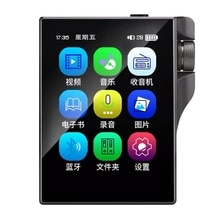 X10 Music Player With Bluetooth 4.2 16GB Portable 2.4 Inch Contact Screen High Fidelity Lossless Sou