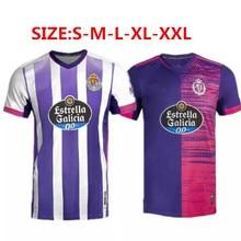 2020 2021 adults Real Valladolid Men Shirt 20 21 Top Quality FEDE S. R. Alcaraz oo Sergi Guardiola O