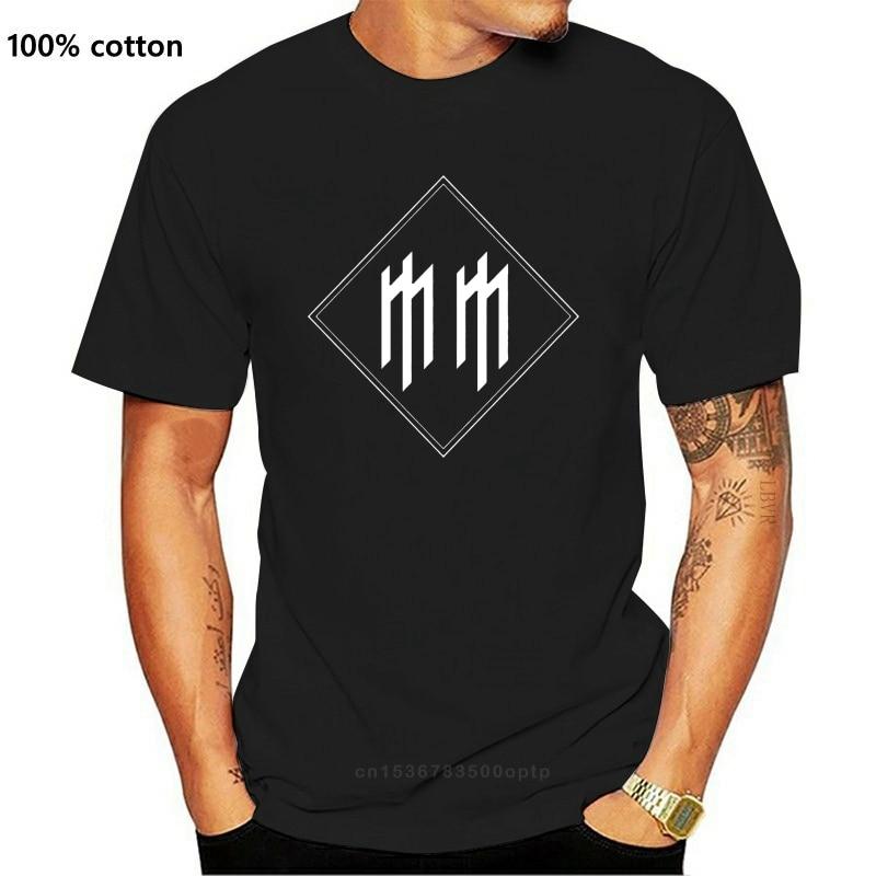 New Fm10 T-Shirt Herren Marilyn Manson Brian Hugh Warner Musik 2021 Fashion Tee Shirt