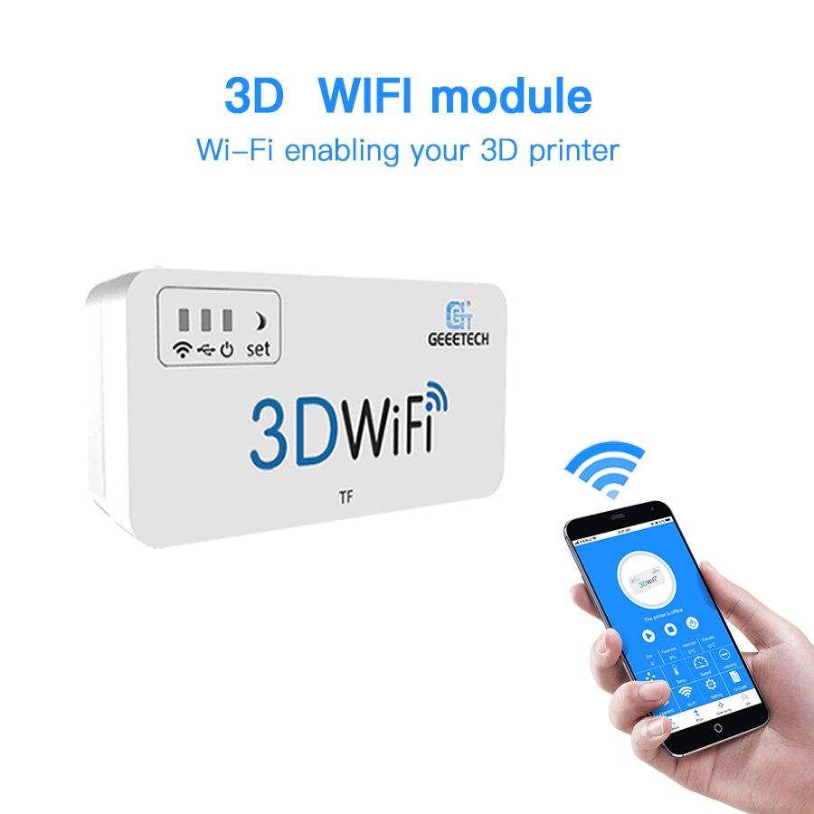 Piezas y accesorios para impresora 3D módulo WiFi 3D tarjeta TF USB2.0 soporte inalámbrico Mini caja Wifi para la mayoría de las impresoras 3D
