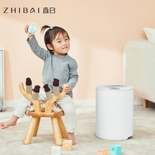Synchronisation de purification dair dhumidificateur dair à la maison de ménage de zwleai avec la télécommande intelligente ajustent lévaporation 250 ml/h IS2