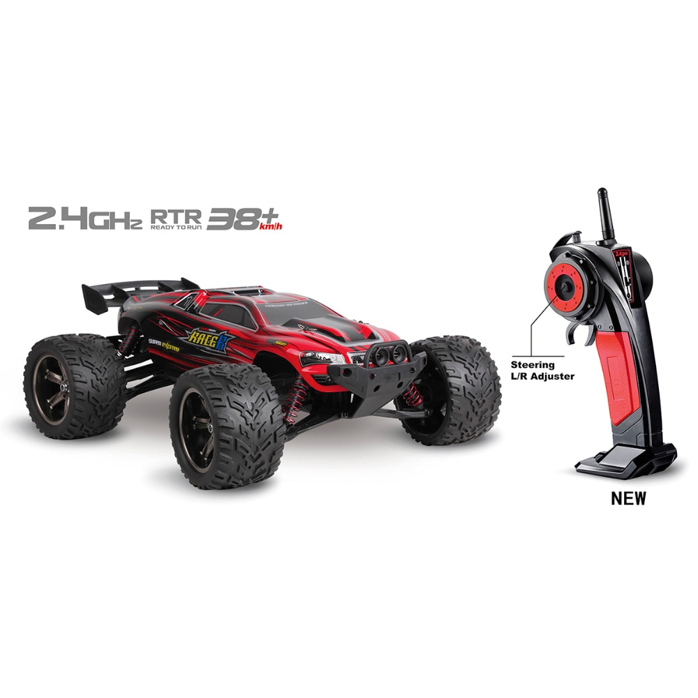 RC Cars Full Proportion Monster Truck 9116 Buggy 1:12 2.4G Off Road Pickup High Speed Car Big Foot Vehicle Electronic Hobby Toys enlarge