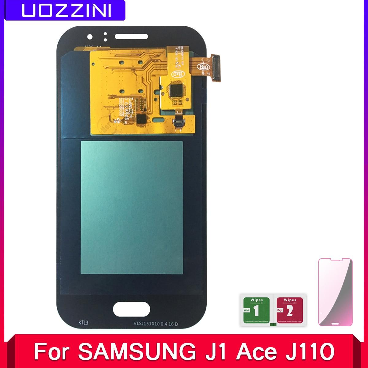 2 uds AMOLED para Samsung Galaxy J1 Ace J110 SM-J110F J110H J110FM pantalla LCD 100% probado montaje de pantalla táctil de trabajo