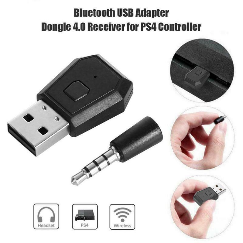 Adaptador inalámbrico de Audio Bluetooth Transmisor receptor Bluetooth para PS4, receptor de...