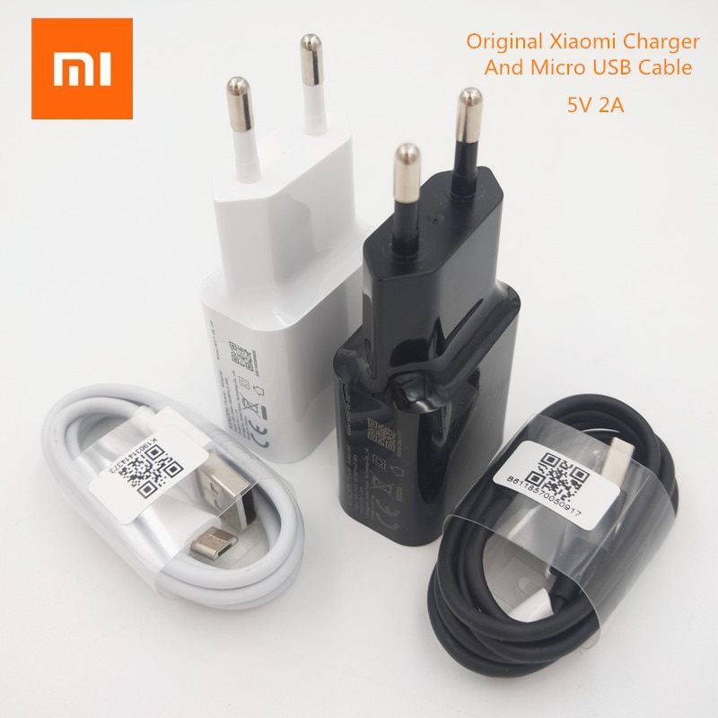 Original Xiaomi 5V 2A UE cargador de Micro usb cable adaptador de...