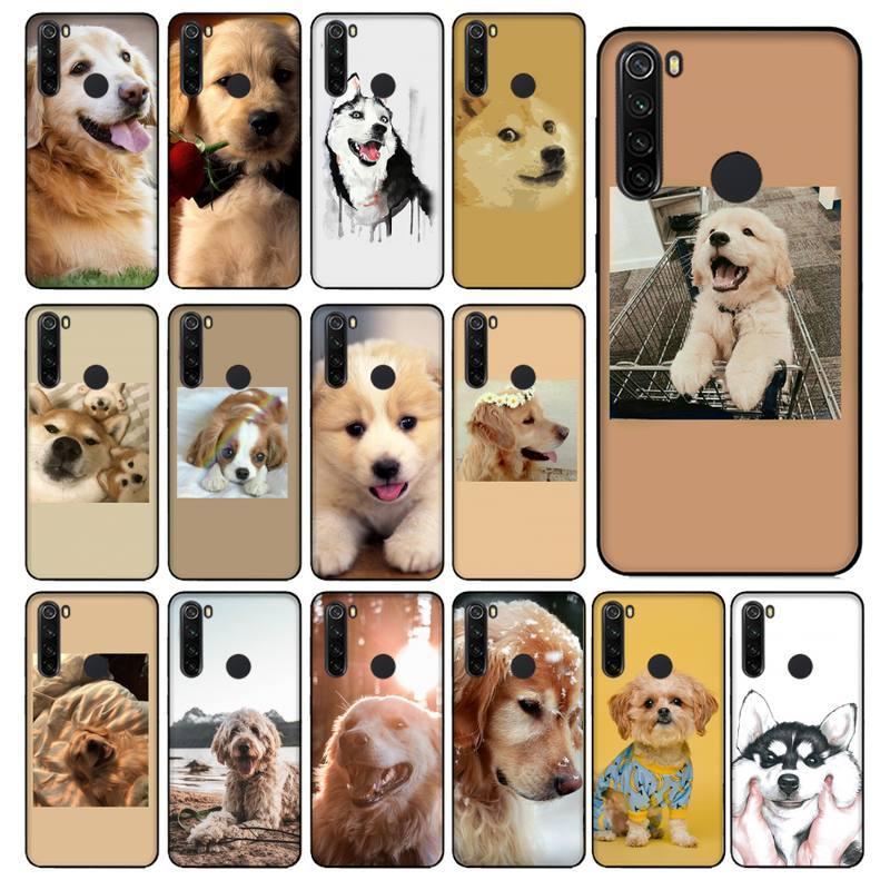 YNDFCNB lindo perro Labrador Husky de Alaska de la cubierta del teléfono...