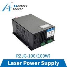 CO2 laser alimentation 100W haute qualité laser découpeuse machine de gravure