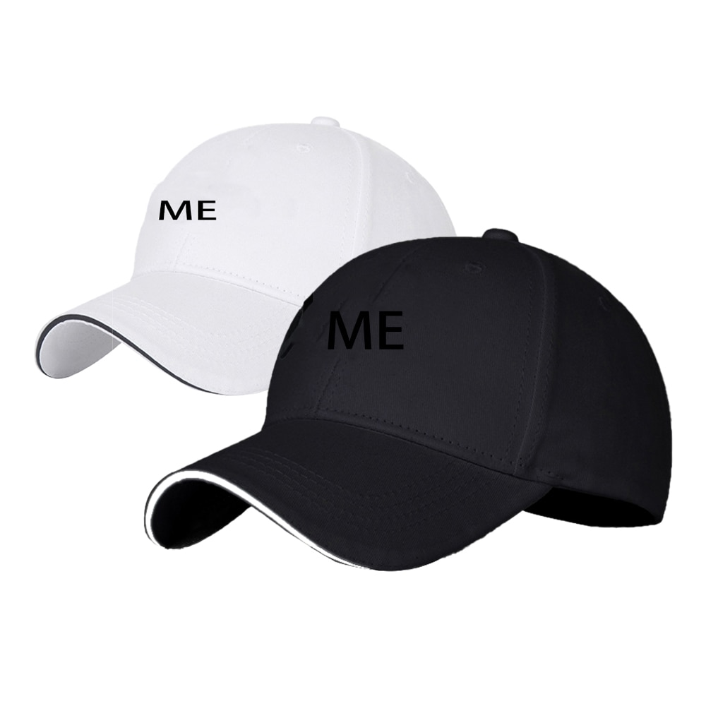 Embroidery ME Emblem Gorras Men Women With Logo Baseball Cap Hat Outdoor Sunhat Casquette Marque Cotton Car Styling Accessories