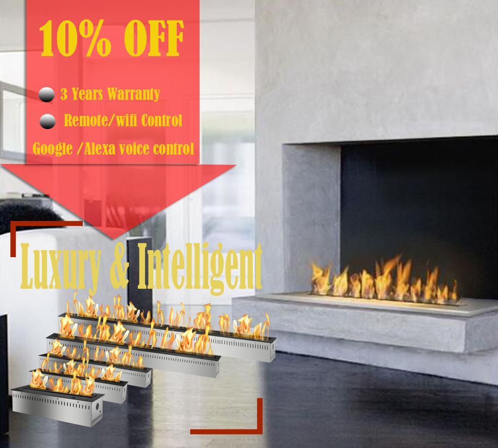 Inno-living fire 36 pulgadas alcohol chimeneas con remoto moderno bio gel fire envío gratis