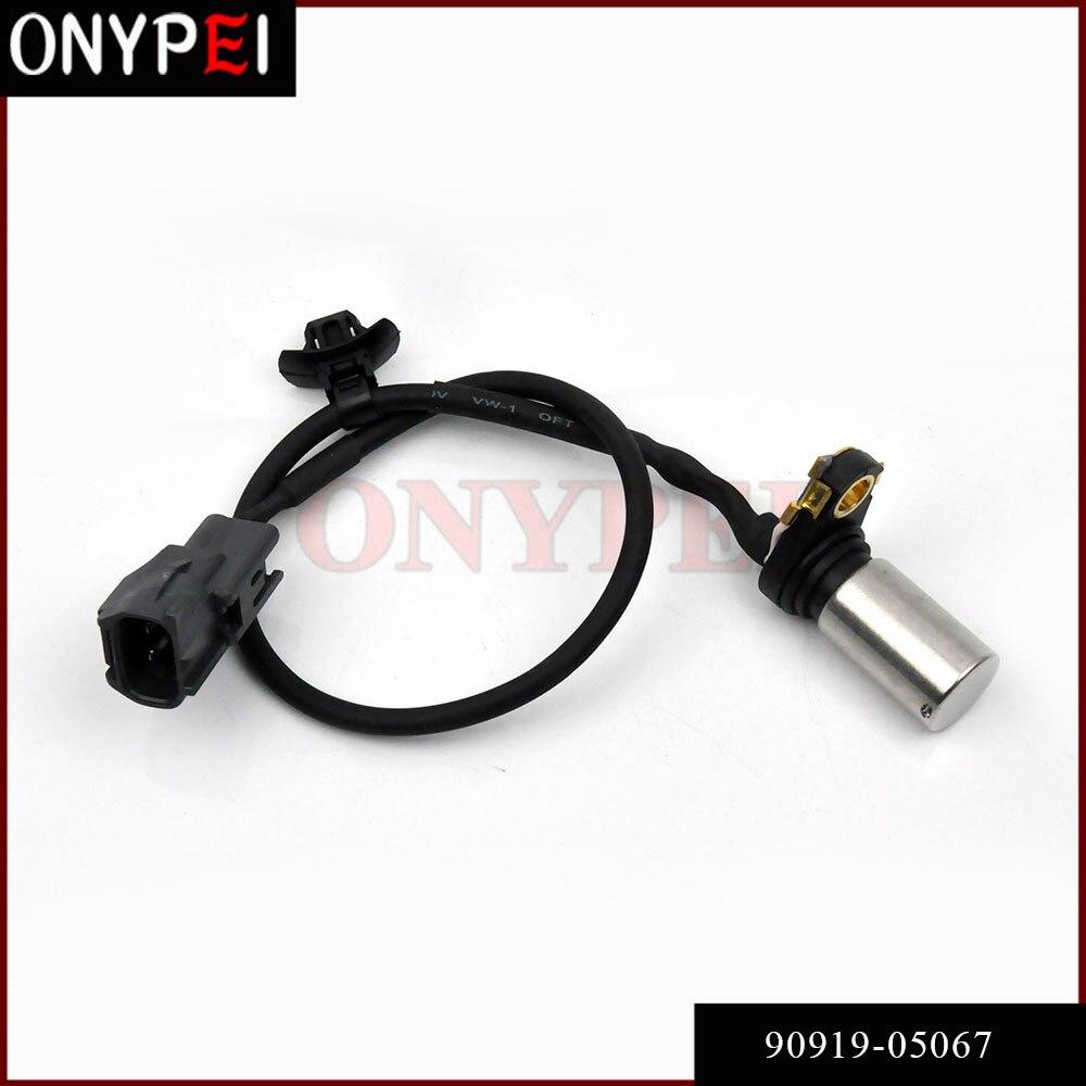 90919-05067, 90919-05047 sensor de posición de cigüeñal de motor para Toyota Camry Previa Alphard Scion xB 2.4L L4 9091905067, 9091905047