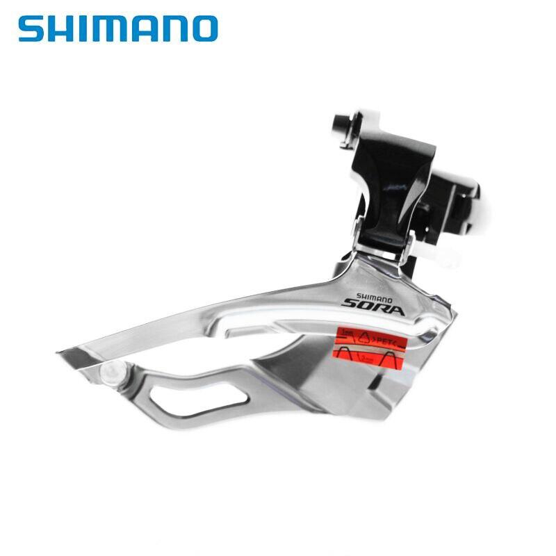 SHIMANO SORA-desviador frontal de FD-3503, para bicicleta de carretera, plegable, 3503 piezas de velocidad 3X9, desviador Original de 31,8mm y 34,9mm