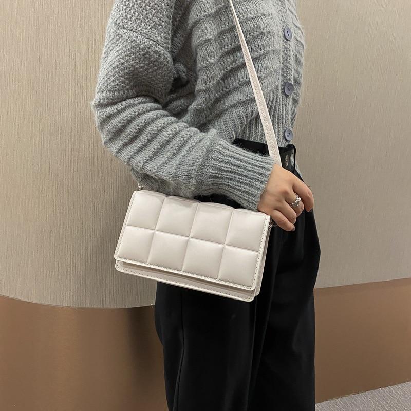 Women's Bag Autumn Winter New 2021 Female Literary Single-Shoulder Bag Minority Design Cross-Body Bag Trend Women's Bag Bolsos
