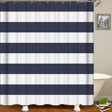 Waterproof Bathroom Curtain Stripe Shower Curtain bathroom shower accessories Decor bath curtain bathromm accessories