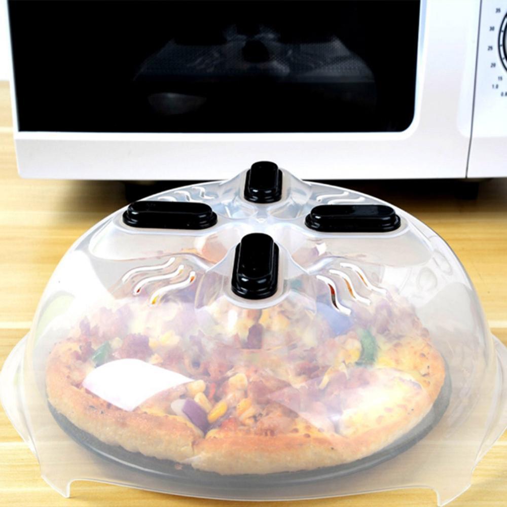 Cubierta antipulverización de alimentos para microondas profesional con rejillas de vapor tapa de salpicadura magnética resistente al calor protector de salpicaduras de alimentos caliente
