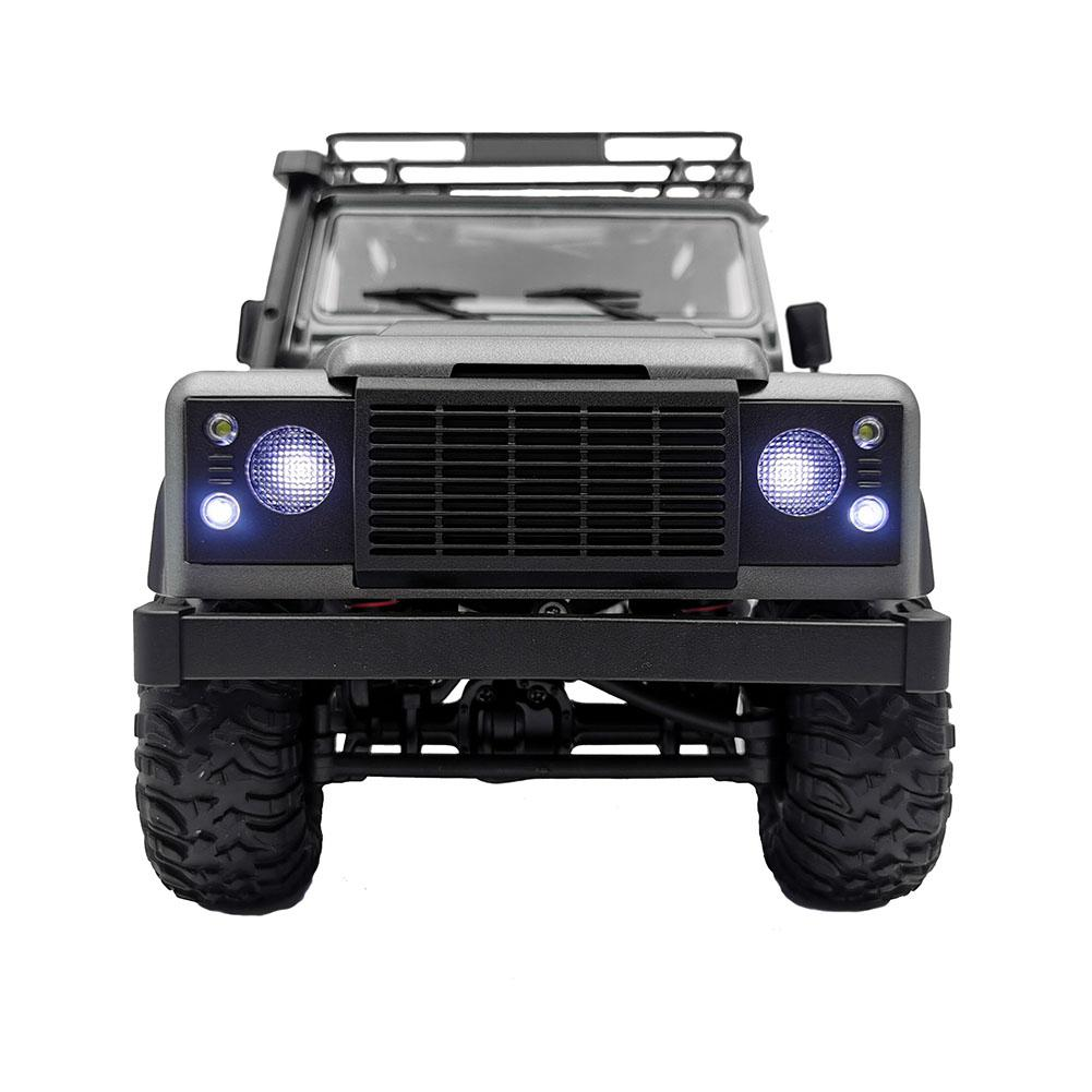 MN-99S 1/12 2.4G 4WD Rc Car W/ Turn Signal LED Light 2 Body Shell Roof Rack Crawler Truck RTR Toy enlarge