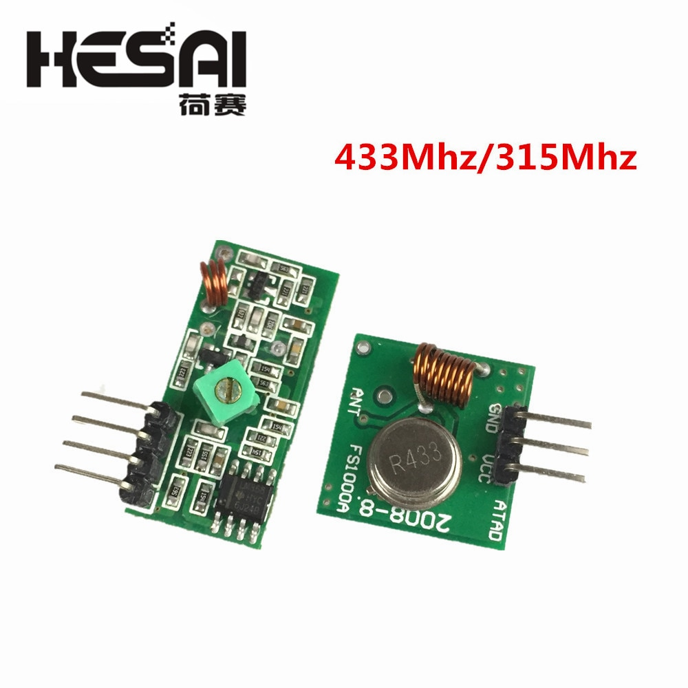433 мгц радиочастотный передатчик и при