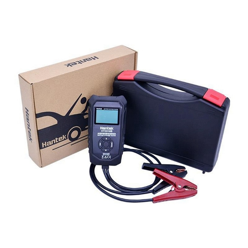 Multifunshional Auto Battery Tester Vehicle Battery Charging Voltage Analyzer for Activated Lead-acid Battery Car Repair Tool