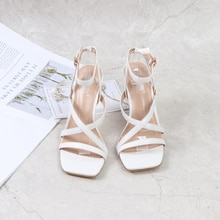 2021 Summer and Autumn New Women's Shoes Pure Color Simple Stiletto High-heeled Open Toe Fashion Lar