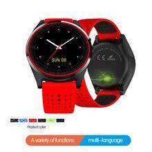 Умные часы с поддержкой SIM-карты, камерой, артериальным давлением, пульсометром, фитнесом, bluetooth, музыкой, мужские и женские спортивные часы