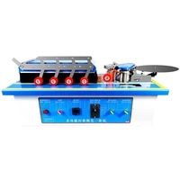 automatic edge banding machine woodworking manual home decoration small multifunctional portable curved and straight line sealer