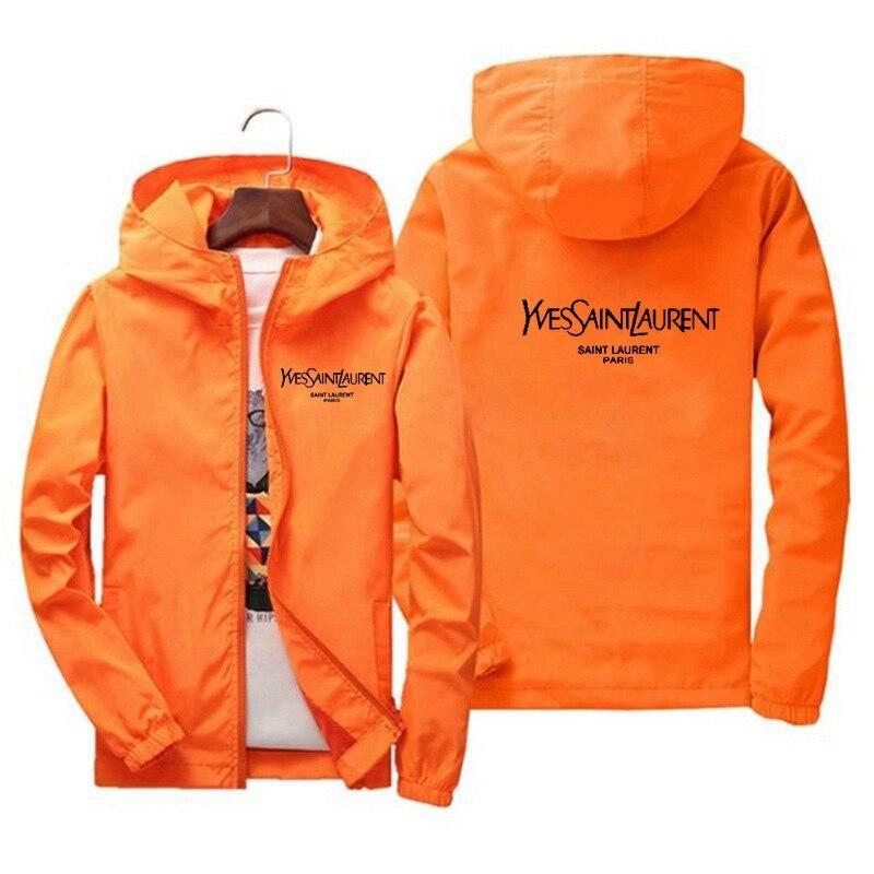 Мужская Новая Молодежная куртка на весну и осень, простая Толстая Мужская куртка большого размера, тонкая мужская одежда
