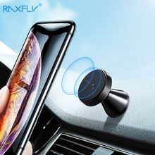 RAXFLY Magnetische Telefon Auto Halter Mit Freies Senden 2PCS Metall Platte Magnet Auto Handy Ständer Suporte Soporte Celular para Auto