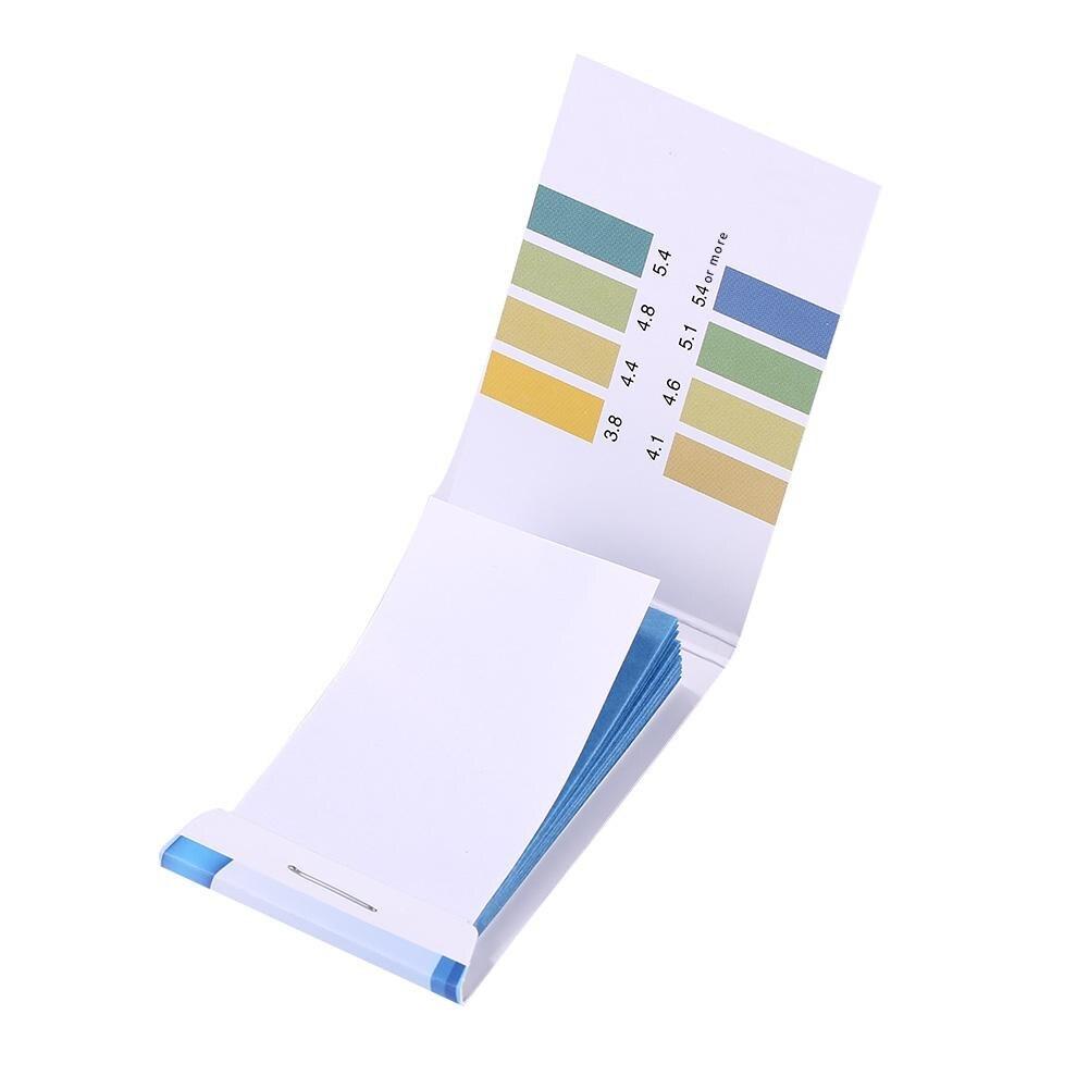 1 caja de precisión papel para prueba de PH calidad del agua acidez alcalinidad PH tira de prueba utilizado para probar jabón hidratante leche de limón
