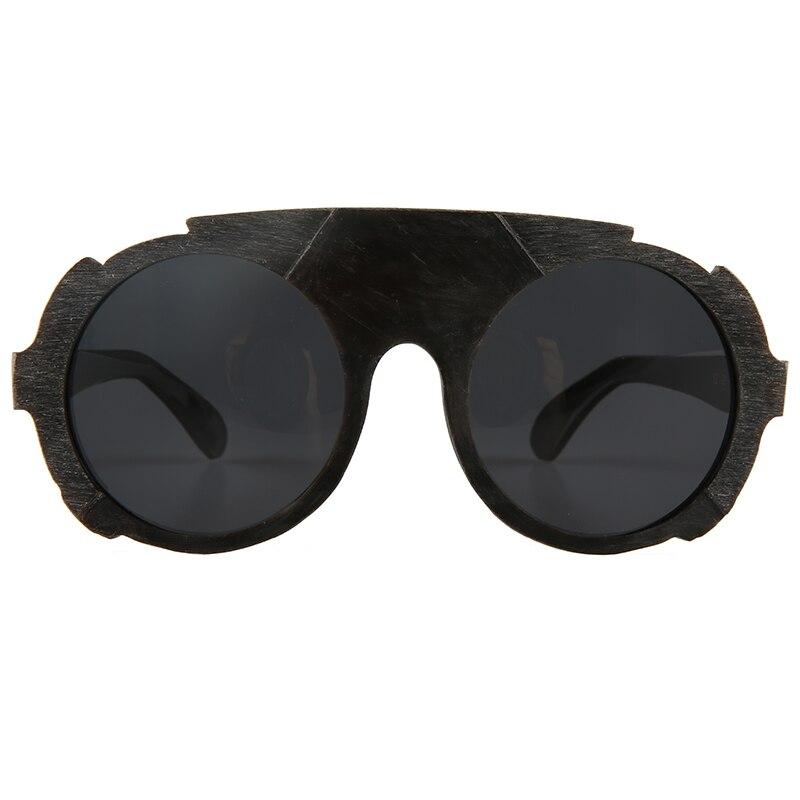 نظارة شمسية عتيقة للرجال ، إطار دائري كبير وكبير ، غير منتظم ، بوق أسود ، عتيق ، نمط جديد ، 2020