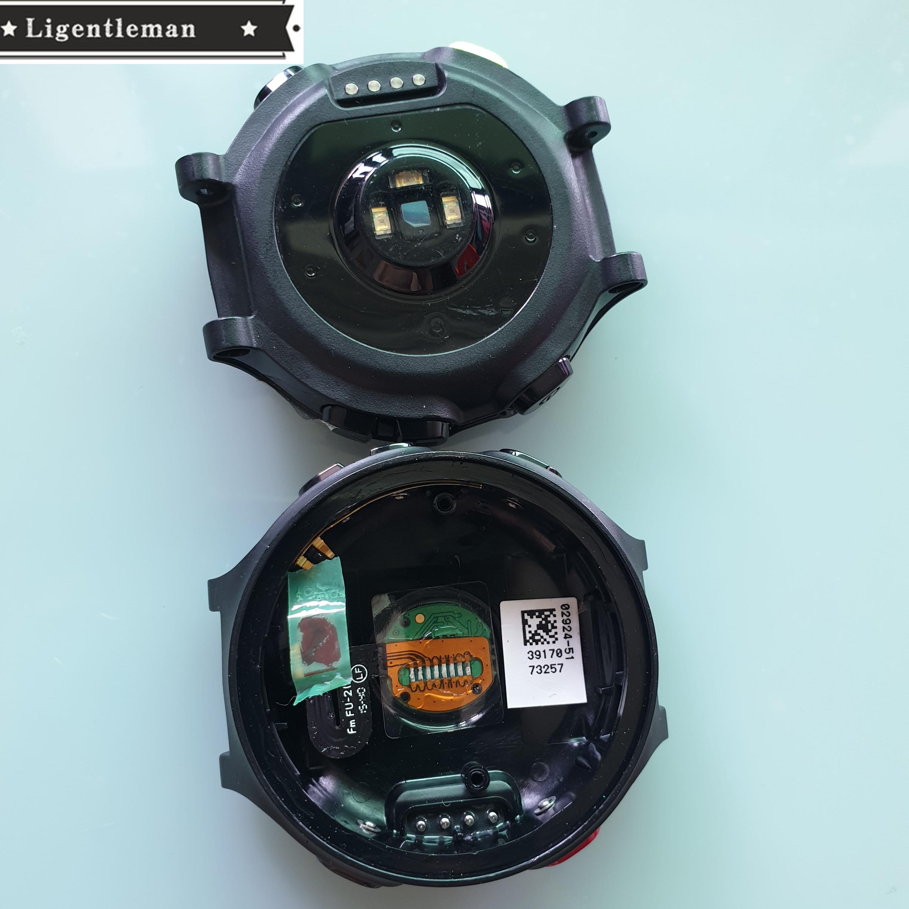 Uhr Zurück Abdeckung mit Batterie Ersatz für GARMIN forerunner 735 Sport Uhr Reparatur Teile Zubehör Reparatur ersatz