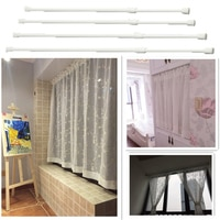 60-110cm Adjustable Extendable Extending Telescopic Pole Curtain Rod Window