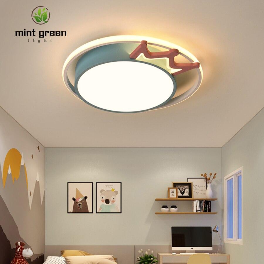 Lámpara de techo Led, lámpara de dormitorio simple moderna, lámpara de habitación romántica, lámpara led cuadrada con personalidad creativa