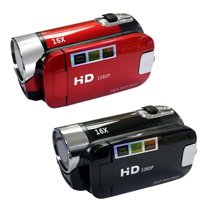 Mini cámara digital con 16 millones de píxeles de regalo cámara Digital DV Neutral doméstica OEM fábrica al por mayor D100 Camara