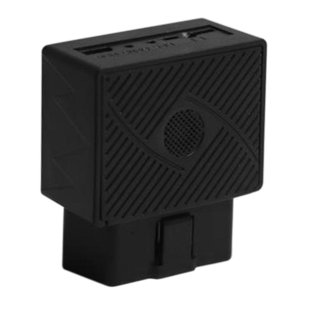 Mini OBD lokalizator GPS do pojazdu GPS + GSM + SMS/GPRS OBDII samochodowy lokalizator samochodowy wtyczka typu plug play z oprogramowaniem i aplikacją narzędzie diagnostyczne