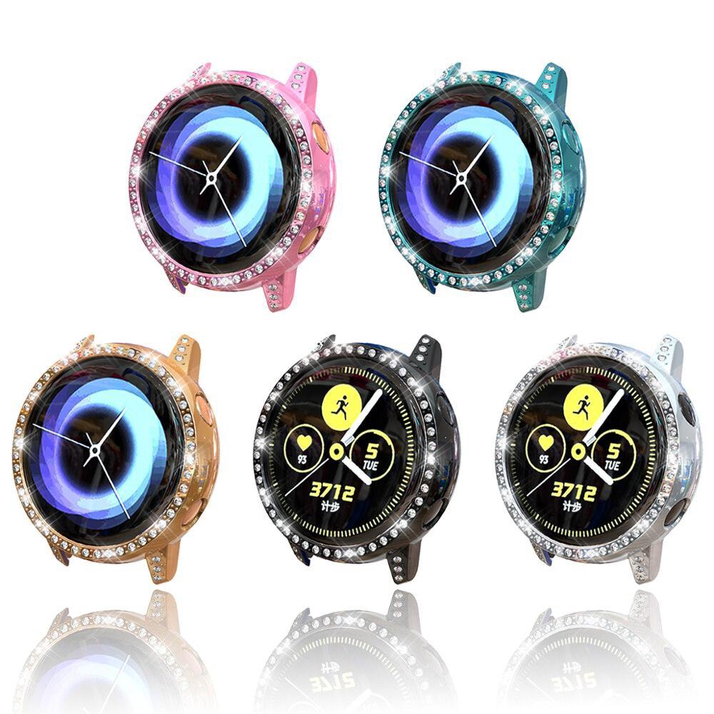 Galaxy Watch funda activa para Samsung galaxy watch parachoques activo anti-caída a prueba de terremotos cobertura diamante TPU accesorios de la Caja