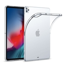 TPU Clear Case For iPad Pro 12.9 11 Case Air 4 2020 Silicone Transparent Ultra Thin Cover For iPad A