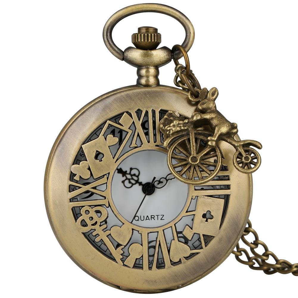 Alice reloj de bolsillo funda hueca Alice en reloj País de las...