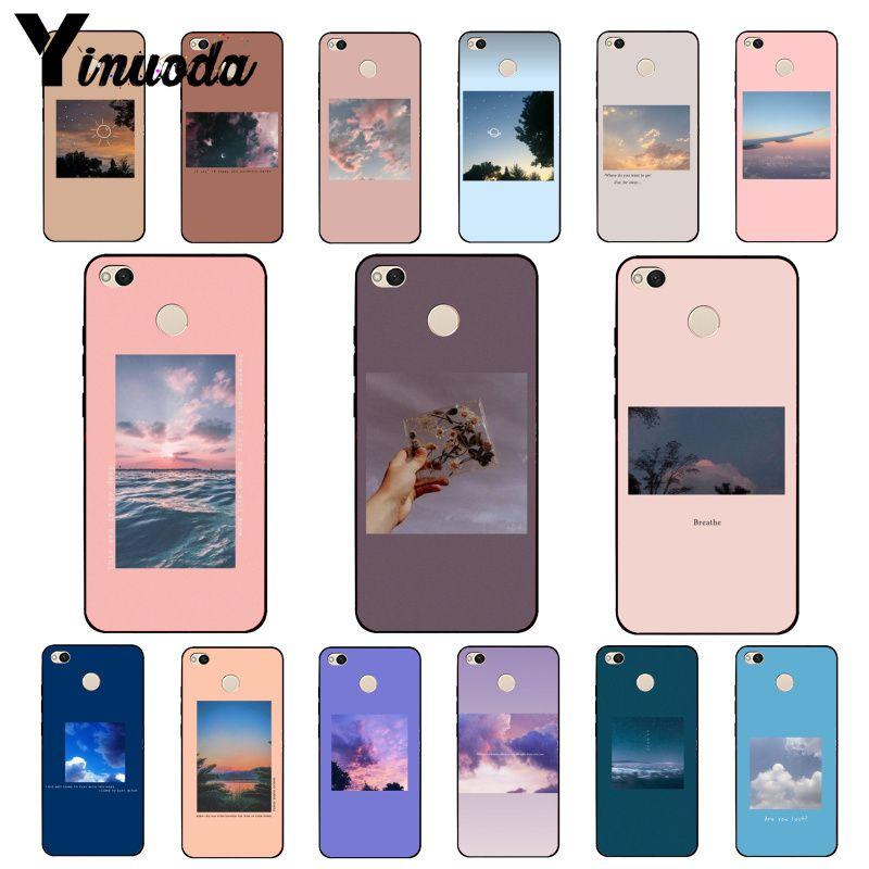 Yinuoda Great art blooming Flower Sea Sky cloud Print Phone Case for Xiaomi mi5 6 A1 A2 Lite Mi9 9SE mi8lite F1 Mix2 2S Max2 3