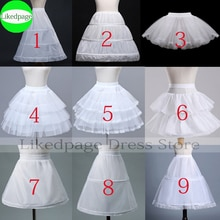 Enagua de flores para niñas, Vestido corto de fiesta de Cosplay, jupón Enfant Fille Lolita, falda de tutú de Ballet, Enaguas, Sottogonna Mini