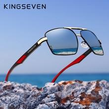 KINGSEVEN Brand 2020 New Polarized Men Sunglasses Square Aluminum Frame Male Sun Glasses Driving Fis
